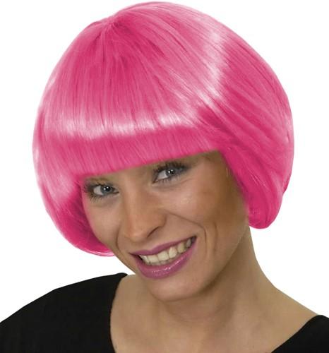Pruik Pigalle Pink