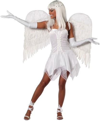 Jurkje Engel Sexy Wit