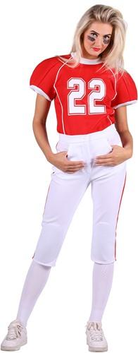 Dameskostuum American Footbal Player
