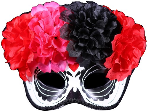 Oogmasker Day of the Dead Calavera