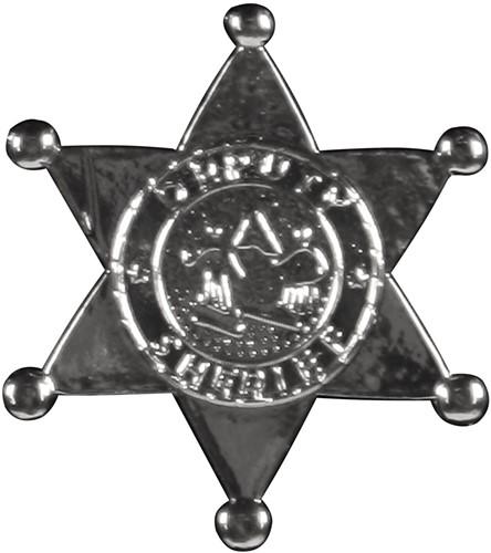 Sheriff Ster Metaal Zilver