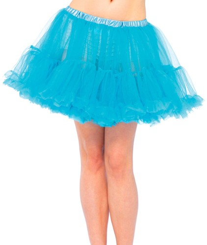 Petticoat Turquoise Luxe (2 laags)