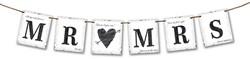 Letterslinger Mr. & Mrs. (77cm)