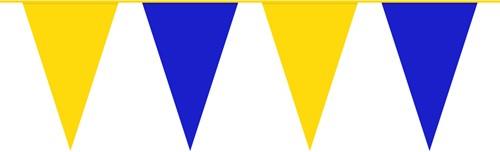 Vlaggenlijn Blauw/Geel (10m)