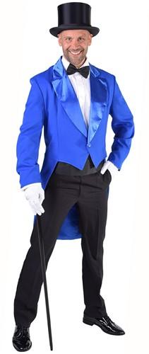 Heren Slipjas Cabaret Luxe Blauw