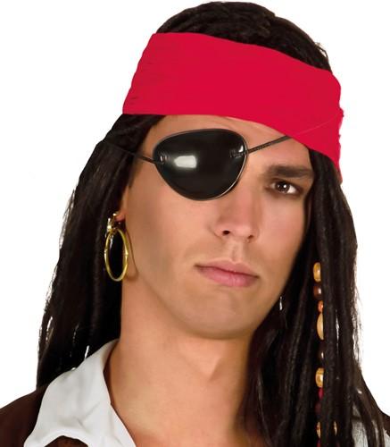 Ooglapje + Oorring Piraat