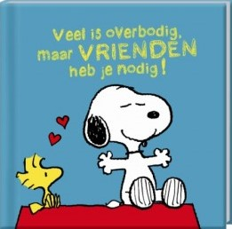Boek Snoopy Vriendschap
