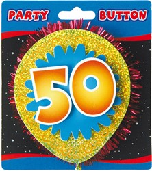 3D Button 50 Jaar