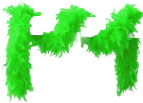 Boa 2mtr 75 gram Neon Groen