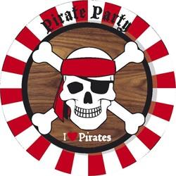 Bordjes Piraat 8 stuks