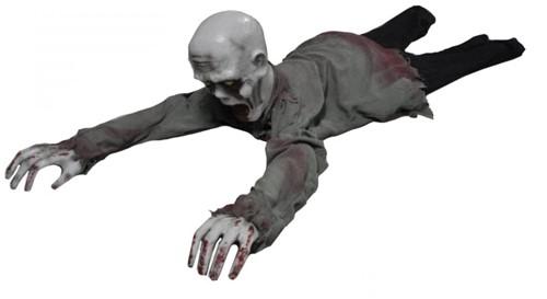 Crawling Zombie met bewegingssensor (geluid+licht)