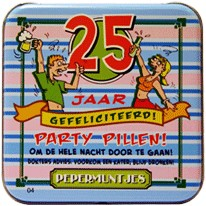 Pocket Tin 25 jaar