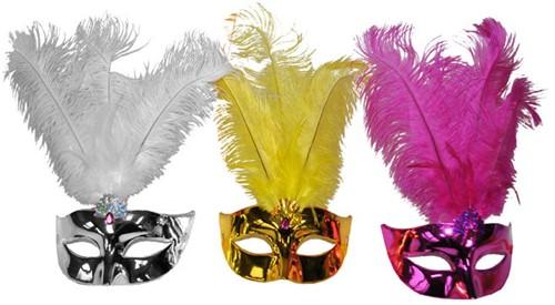 Venetiaans Masker + Veren Bont