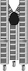Bretels Piano Zwart-Wit