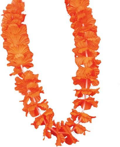 Hawaiikrans Oranje Luxe