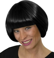 Pruik Pigalle Zwart