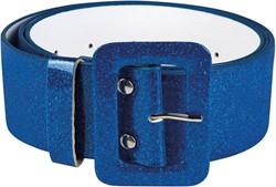 Riem Glitter Blauw (120x5cm)
