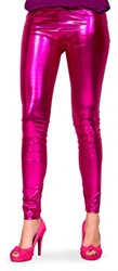 Legging Metallic Luxe Pink