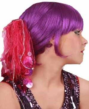 Haarklem Pailletten Pink Luxe