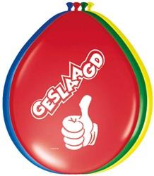 Ballonnen Geslaagd - Dikke Duim 8st.