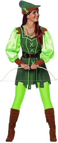 Dameskostuum Robin Hood Girl
