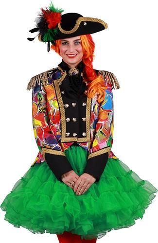 Carnavalsjas Happy Bubbles voor dames