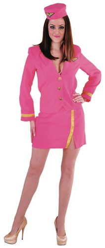 Stewardessenpakje Luxe Pink