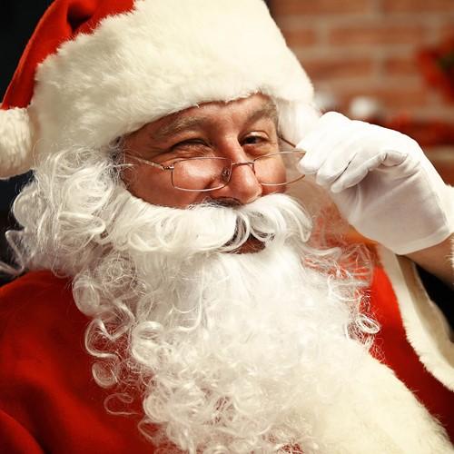 Kerstman Baard Wit