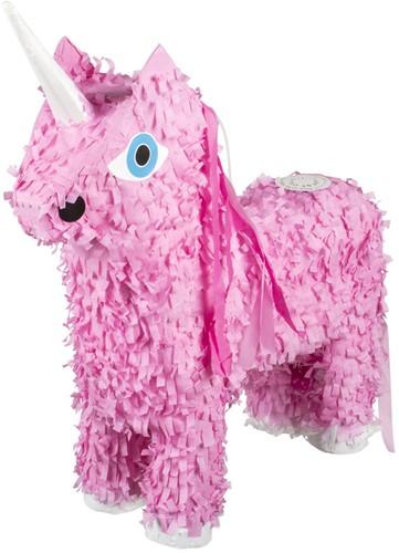 Pinata Unicorn - Eenhoorn Roze (47x39cm)