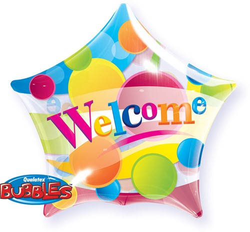 Bubble Ballon Welcome