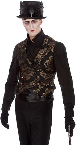 Heren Vest Gothic Luxe