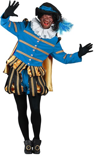 Pietenpak Albufeira Zwart/Turquoise Luxe