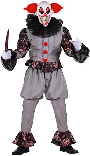 Herenkostuum Horror Clown Luxe