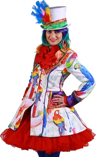 Carnavalsjas Parrot Coco voor dames
