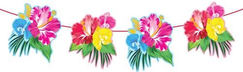Vlaggenlijn Tropische Bloemen (6m)