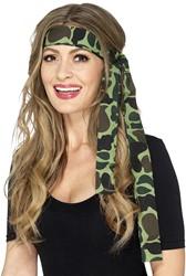 Leger Camouflage Hoofdband