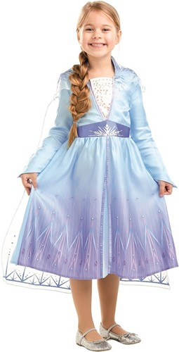 Frozen 2 - Prinsessenjurk Elsa Classic