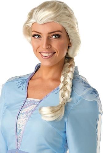 Pruik Elsa - Frozen 2 voor volwassenen