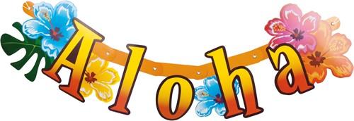 Letter Banner Aloha (83cm)