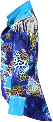 Dames Blazer Blue Panther Luxe-3