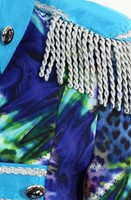 Dames Blazer Blue Panther Luxe (detail)