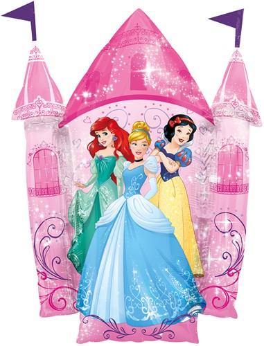 Supershape Folieballon Prinsessen met Kasteel (66x88cm)