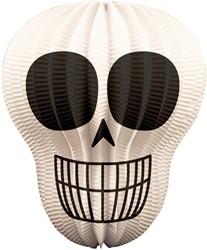 Halloween Lampion Doodshoofd 31x25cm