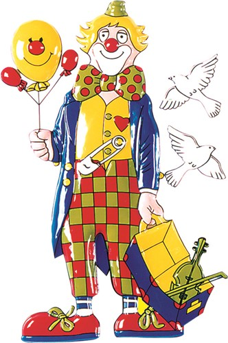 Deco Clown Viool