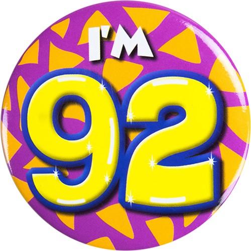 Button 92 jaar