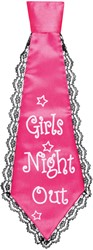 Stropdas Girls Night Out Pink