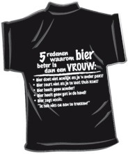 Mini-shirt Bier beter