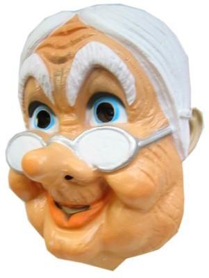 Masker Sarah met brilletje