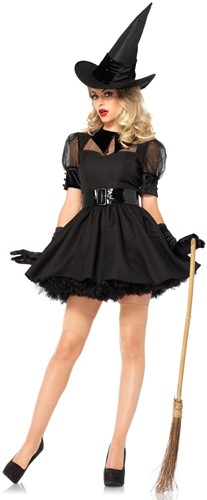 Heksenjurk Bewitching Witch voor dames