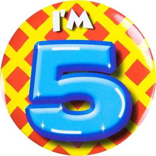 Button 5 jaar